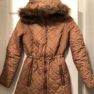 The Limited Puffer Coat